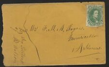 1860's Civil War Confederate  Cover  to Arkansas