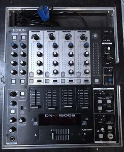 Denon dn-x1500s  6 Kanal DJ Mixer   (4 Stereo Kanäle & 2 Mikro-Kanäle) ohne Case