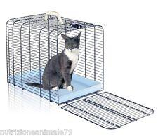 trasportino per gatti o piccoli cani misura XL in ferro rete by imac