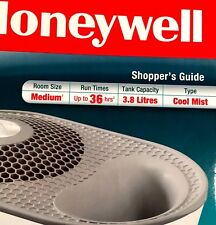 Honeywell Cool Moisture Humidifier 1 Gal 3.8 L Quiet Easy Use 36 hr HCM-710C