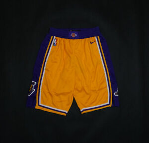 HOT Los Angeles Lakers Yellow Basketball Shorts Size: S-XXL