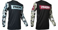 Thor Pulse Fire Jersey Motocross Dirt Bike Offroad Riding - Adult sizes