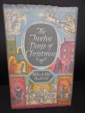 1st Edition 1961 Miles & John Hadfield The Twelve Days Of Christmas