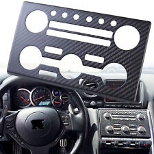 High Quality Real Dry Carbon Fiber Control Panel Fit For Nissan R35 GTR GT-R