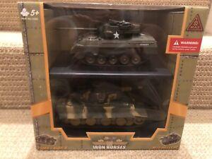 Ultimate Soldier 1:32 Iron Horses - M18 Hellcat Vs. Tiger I Ausf. E, No. 13222