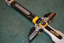 Nerf N-force Marauder Foam Sword Black & Yellow Cosplay Con Used
