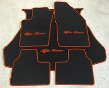 Autoteppich Fußmattenn Kofferraum für Alfa Romeo 156 Sportwagon schw-cognac Neu