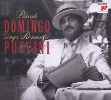 Plácido Domingo – Sings Romantic Puccini CD Sony Classical 2008 NEW