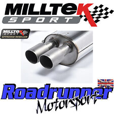 Milltek Fiesta ST200 Exhaust Cat Back RACE SYSTEM Non Res Titanium SSXFD144