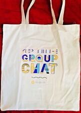 GOOGLE Allo Tote Bag NEW Pixel Android iphone ipod PAX East 2018 Group Chat Mac