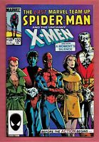 Marvel Team-Up #150 Spiderman & X-Men - Double Size LAST Issue MARVEL 1984 VF++