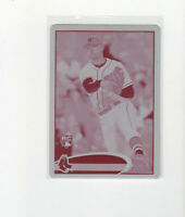 2012 Topps Update Magenta Printing Plate Will Middlebrooks RC parallel card 1/1