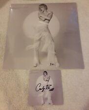 "Carly Rae Jepsen Dedicated Side B Silver 12"" Vinyl LP 2020 w/ Signed Print"