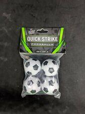 Soccer ball style foosballs - 4 pack