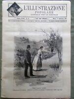 L'illustrazione Popolare 13 Settembre 1891 Polcevera Vedana Firenze Forcellini