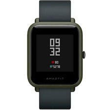 Xiaomi Huami Amazfit Bip 32mm Caja Polycarbonate en Verde, Correa Silicona Negra, Reloj Inteligente