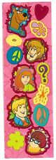 "SANDYLION Sticker Sheet ""Scooby Doo"" Pink Background Fred Daphne Velma Shaggy"