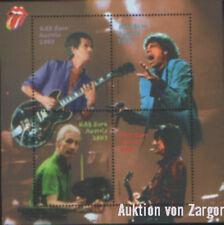 Rolling Stones / Mick Jagger Sonderbriefmarken Block ungestempelt