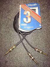 "Proel ""Series 3"" 6 ft. Interconnect High Performance Cable MONO Split"