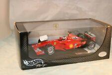 Hotwheels F1 Ferrari F2001 Rubens Barrichello MARLBORO decals 1:18 MIB