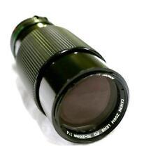 Canon FD 70~210mm f/4 Macro Zoom Lens Excellent! AE-1 A1 T-50 T-70 F-1 AT-1 AL-1