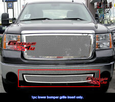 Fits GMC Sierra 1500/2500HD/3500HD/Denali Bumper Mesh Grille 07-11 2011
