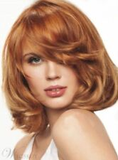 New Arrival Bob Hairstyle Lovely Medium Wavy Golden Brown Wig 12 Inches