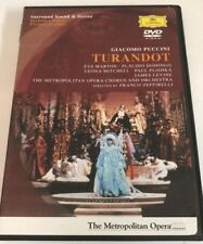 Turandot - The Metropolitan Opera (DVD, 2003)  Very Good