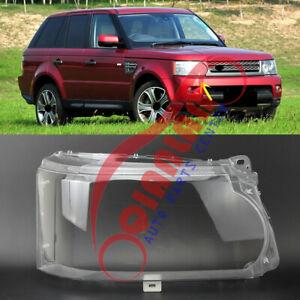 For Range Rover Sport 2010-2013 Right Side Headlight Lens Cover + Sealant Glue