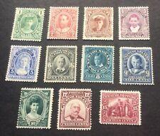 "Newfoundland 1911-16 KGV SG 117-127 ""Coronation Set"" 1c-15c Mint"