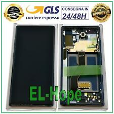DISPLAY LCD ORIGINALE SAMSUNG GALAXY NOTE 10 PLUS SM-N975 F TOUCH SCREEN NERO