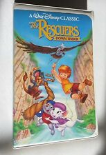 The Rescurers  Down Under (VHS, 1991) - Walt Disney's Black Diamond Classicsw/ad