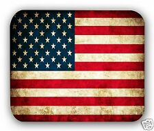 Retro American Flag Anti-Slip Mouse Pad Gaming Mousepad Desktop Mouse Pad