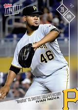 "MLB TOPPS NOW CARD #96: ""MADDUX"" CG SHUTOUT FUELS 4-0 VICTORY - IVAN NOVA"