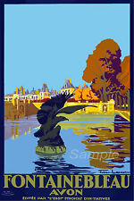 FRANCE VINTAGE TRAVEL POSTER By Train RARE HOT NEW 2