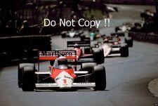 Alain Prost McLaren MP4/3 Grand Prix de Mónaco 1987 fotografía