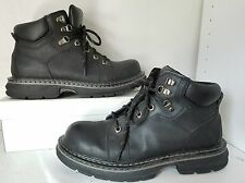 BLACKHAWK Black Short Leather Comfort Boots. MEN Sz 9.5