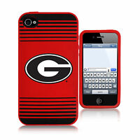 NCAA College 2013 Team Logo Silicone Soft Cover Case Iphone 4 - Pick Team