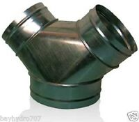 """Y WYE Duct Connector Reducer Variation List 4"""" 6"""" 8"""" 10"""" 12"""" All Sizes Available"""
