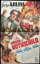 The House of Rothschild 1934 DVD George Arliss, Boris Karloff, Loretta Young