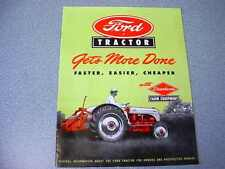 Ford 8N Tractor Color Brochure