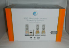 AT&T 3 Handset Cordless Answering System with Caller ID Model EL52345