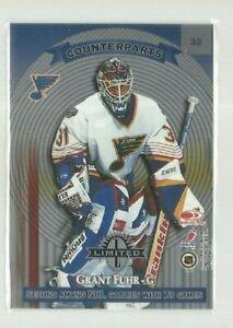 1997-98 Donruss Limited #32 Mike Richter/Grant Fuhr C (ref 59957)