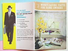 1959 MONEY SAVING FACTS FOR HOME OWNERS ALLSTATE SEARS ROEBUCK HOME IMPROVEMENT