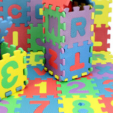 Number Alphabet Foam Mat Puzzle Floor Mat Carpet Bedroom Mat Educational Toys