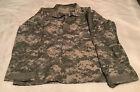 Mens ACU Digital Camouflage Military BDU Shirt Uniform Coat Fatigues Small / Reg