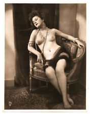 Vintage 1930's Classic French Female Nude, Paris