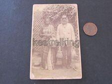 Original Australian Aborigines CDV Photograph