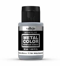 Vallejo in metallo colore bianco in alluminio 77.706 acrilico vernice a base acqua 32ml
