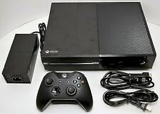 Microsoft XBOX ONE 500GB Console DAY 1 System 1540 Kinect Sensor Bundle BLACK